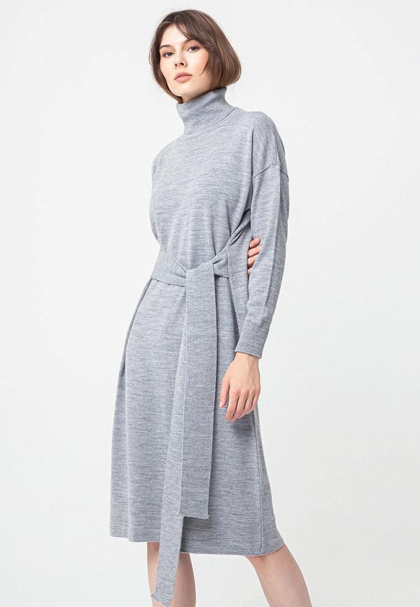 женское платье bgn, серое