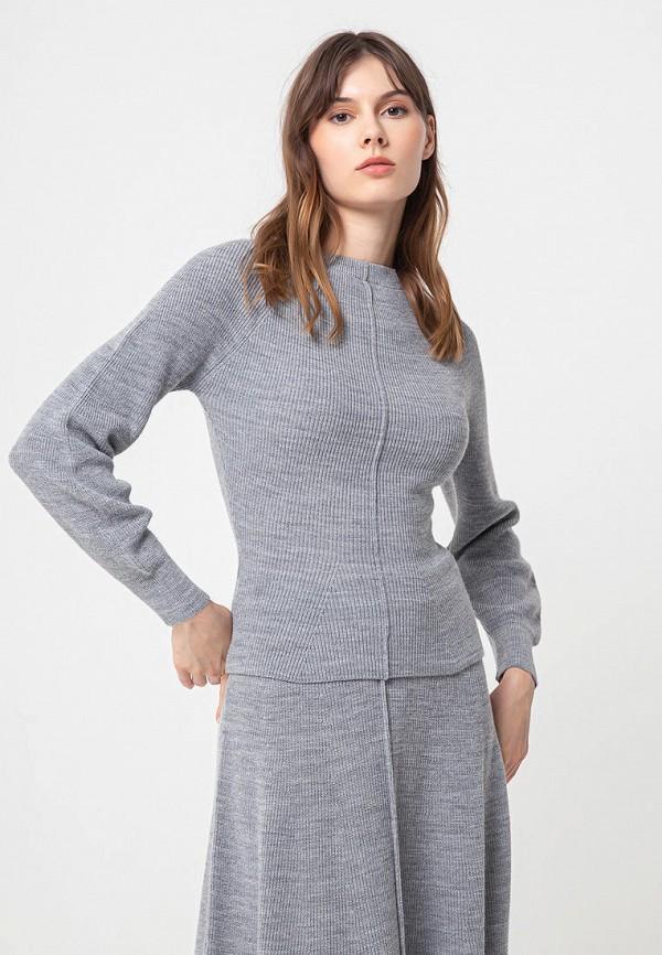 женский джемпер bgn, серый