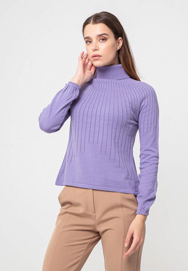 женская водолазка bgn, фиолетовая