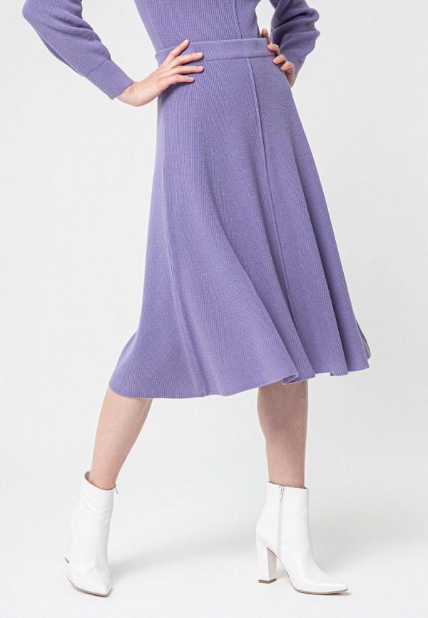 женская юбка bgn, фиолетовая