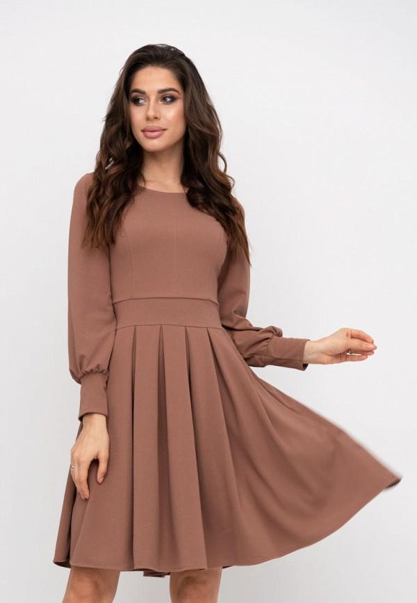 женское повседневные платье magnet, коричневое