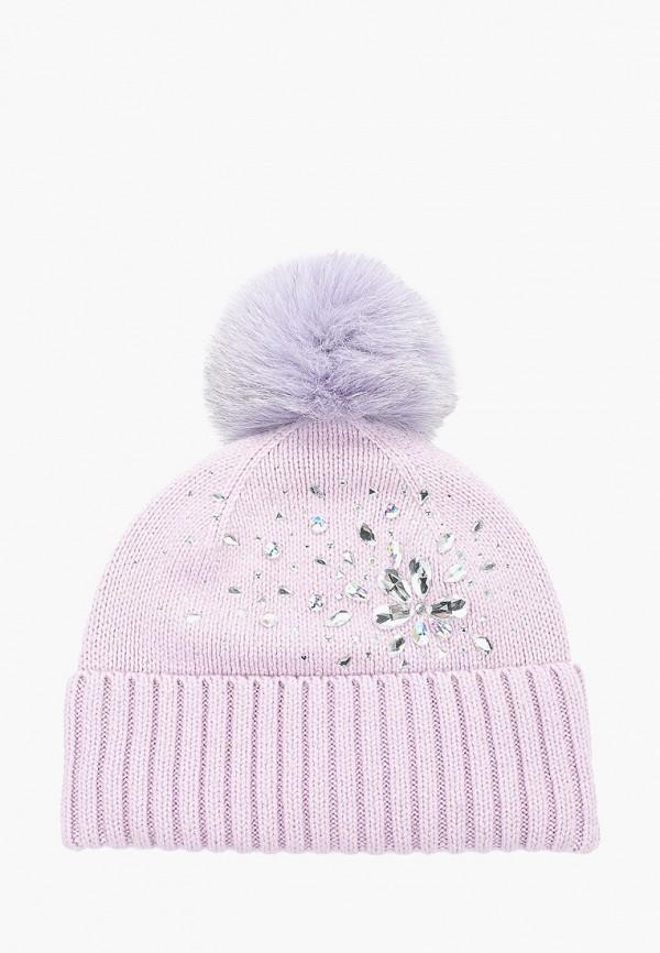 женская шапка aleksa, фиолетовая