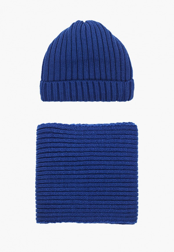 женский шарф сиринга, синий