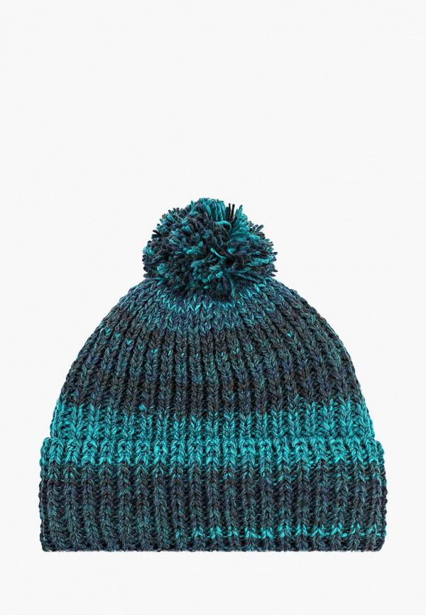 женская шапка дирз, бирюзовая