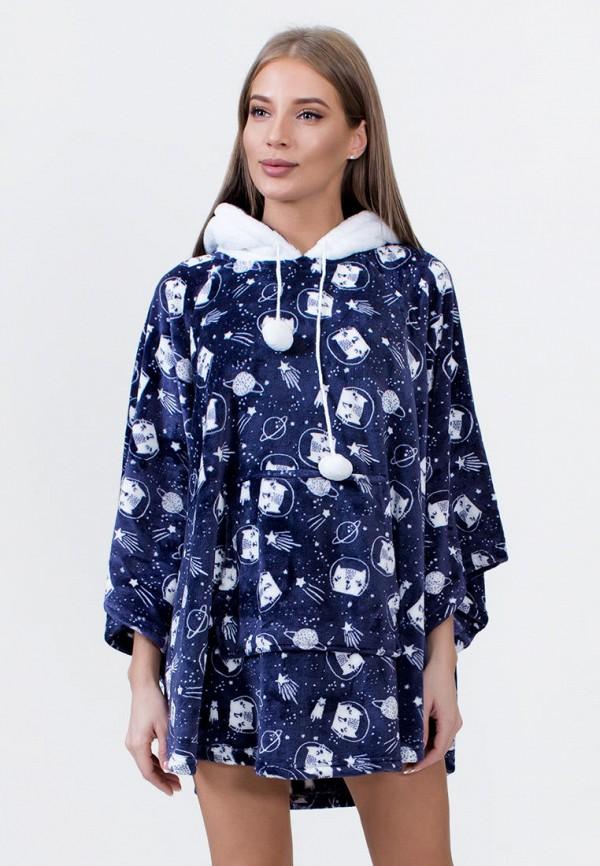 Платье домашнее Vienetta Vienetta MP002XW0H5J0 платье домашнее vienetta s secret arizona цвет черный 809170 0000 размер l 48