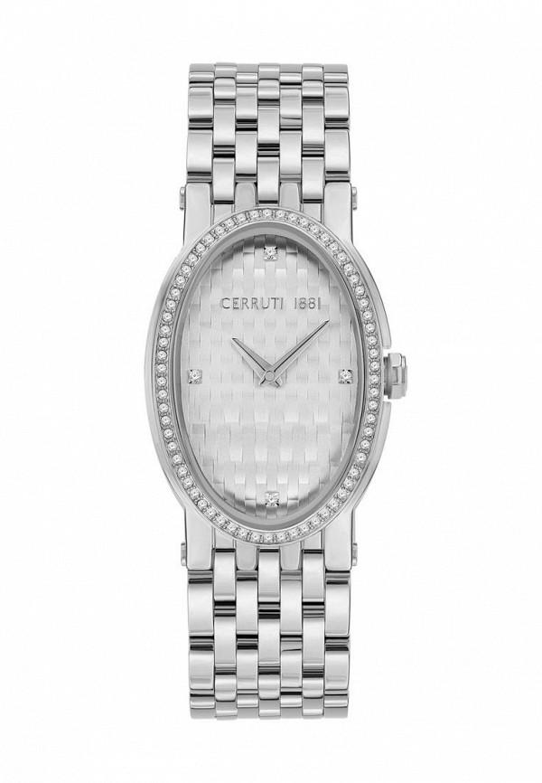женские часы cerruti 1881, серебряные