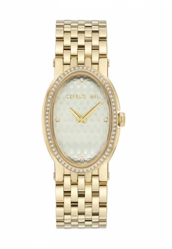 женские часы cerruti 1881, золотые