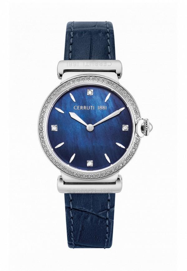женские часы cerruti 1881, синие