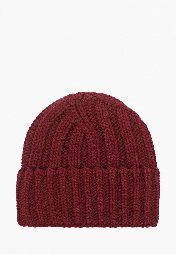 женская шапка ruxara, бордовая