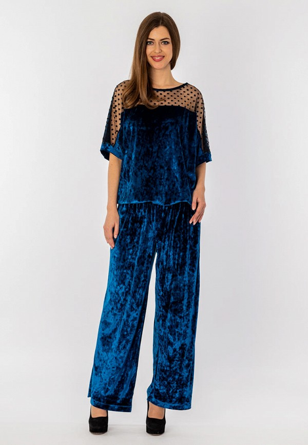 женский костюм s&a style, синий