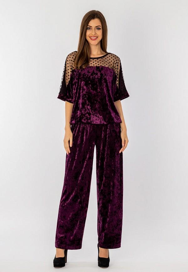 женский костюм s&a style, фиолетовый