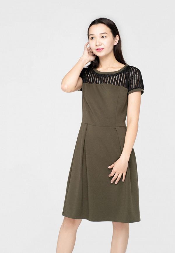 женское повседневные платье omero, хаки
