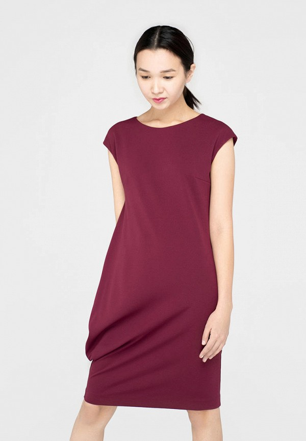 женское повседневные платье omero, фиолетовое
