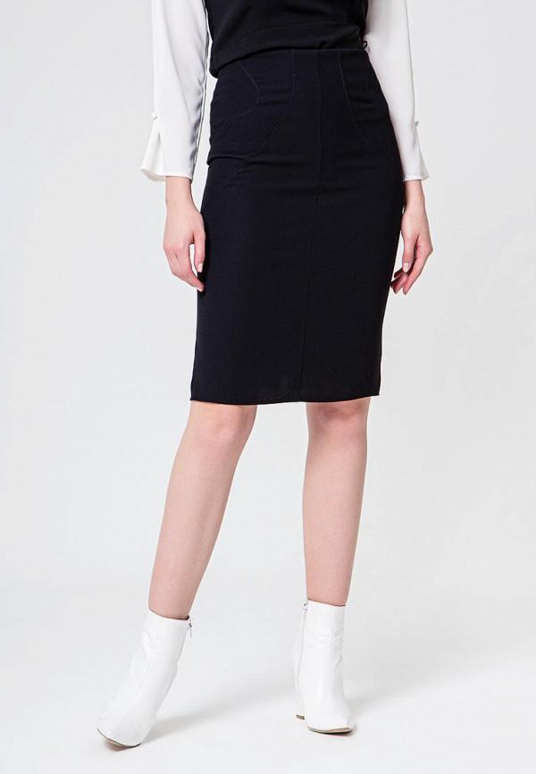 женская прямые юбка bgn, черная