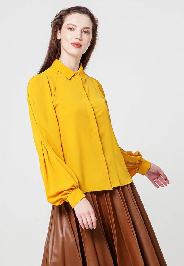 женская блузка bgn, желтая