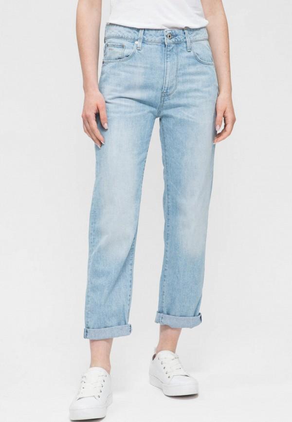 женские джинсы бойфренд g-star raw, голубые