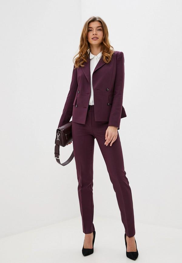 женский пиджак gregory, бордовый