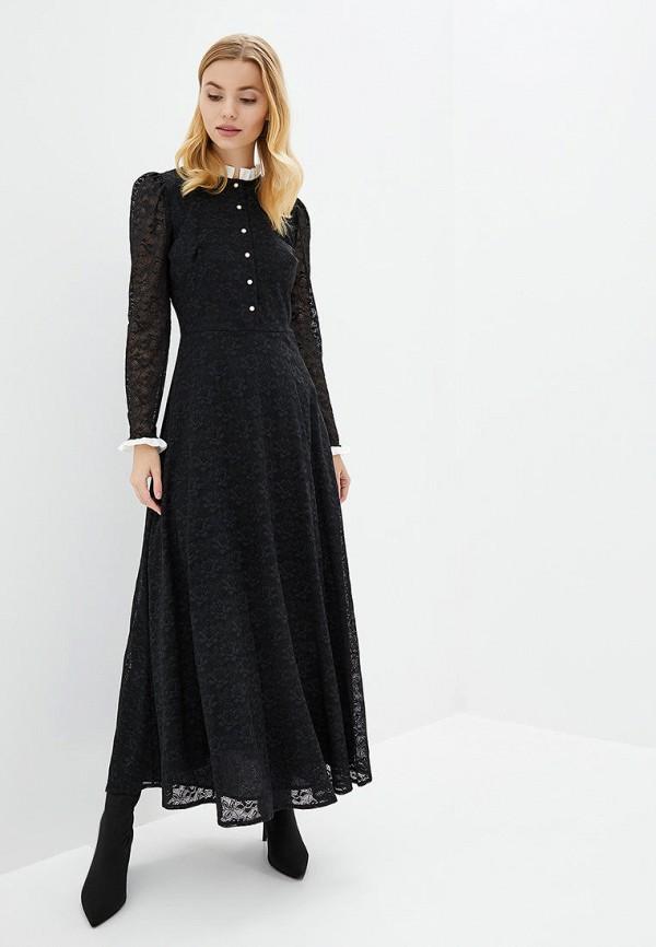 женское вечерние платье genevie, черное