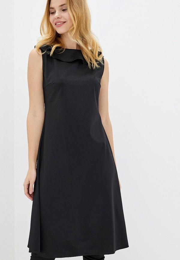 женское повседневные платье arefeva, черное