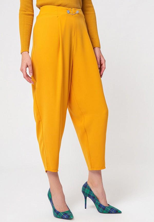 женские повседневные брюки bgn, желтые