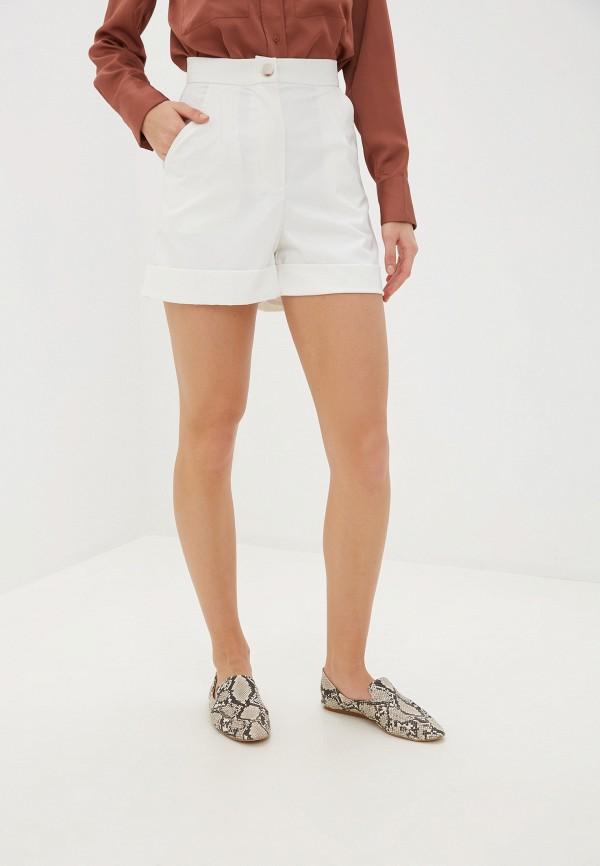 женские повседневные шорты alasia fashion house, белые