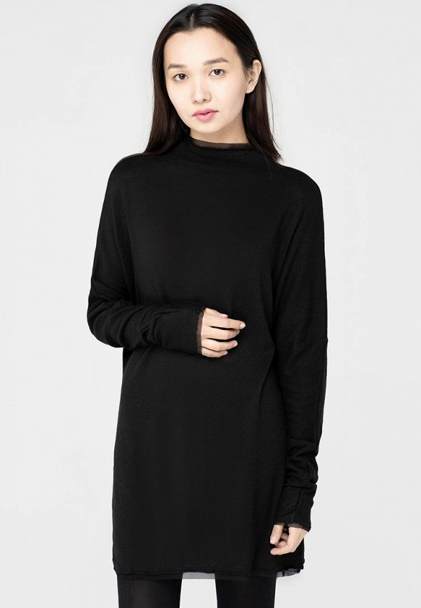 женская туника omero, черная