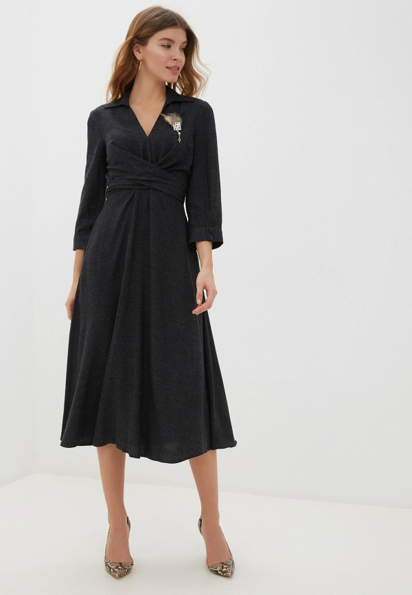 Платье Joymiss серого цвета