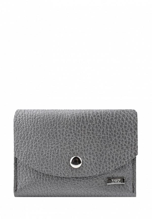 женский кошелёк esse, серебряный