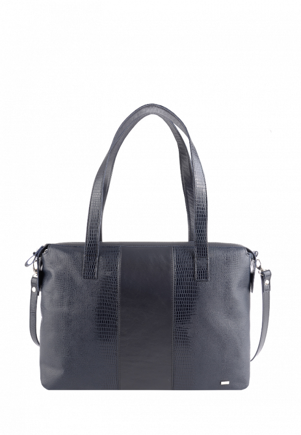 женская сумка-шоперы esse, синяя