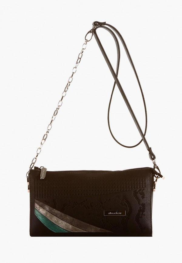 женский клатч alba soboni, черный