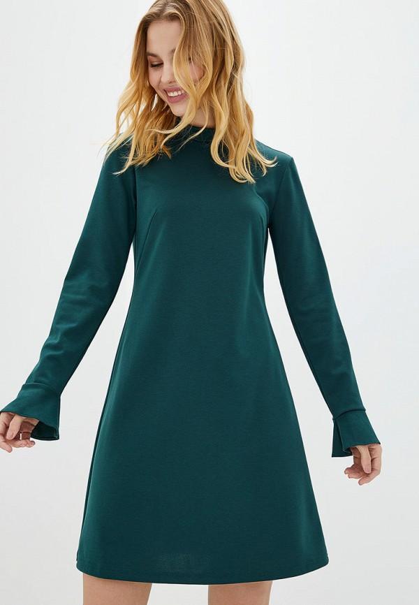 женское повседневные платье jhiva, зеленое