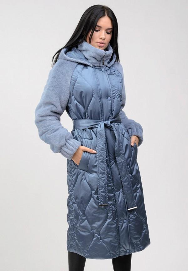 женская куртка raslov, голубая