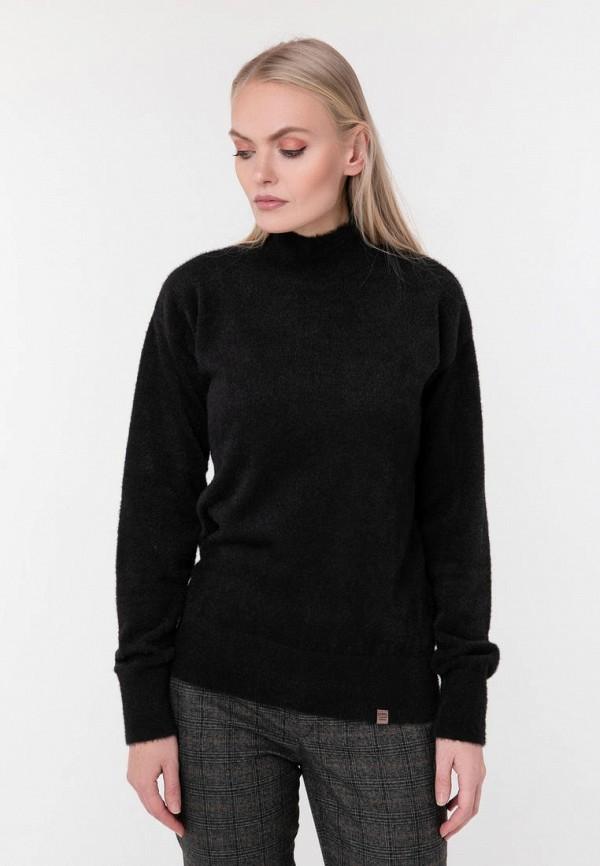 женская водолазка sewel, черная
