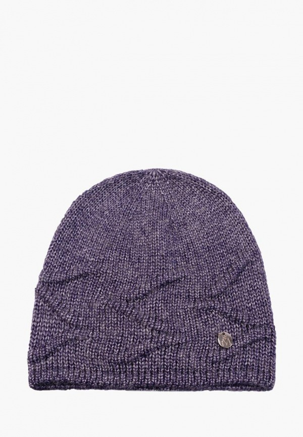 женская шапка mira adriana, фиолетовая
