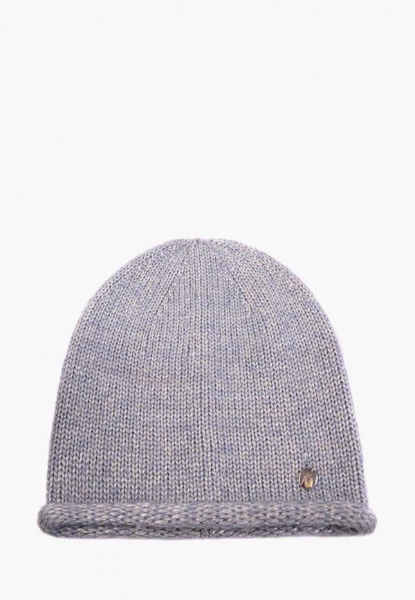 женская шапка mira adriana, серая