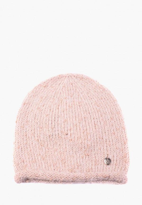 женская шапка mira adriana, бежевая