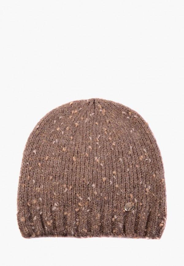 женская шапка mira adriana, коричневая