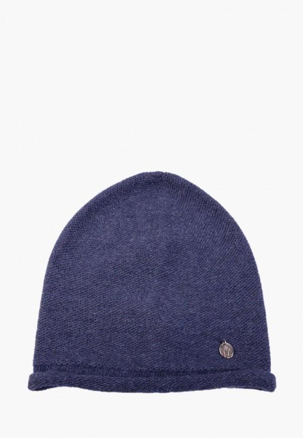 женская шапка mira adriana, синяя