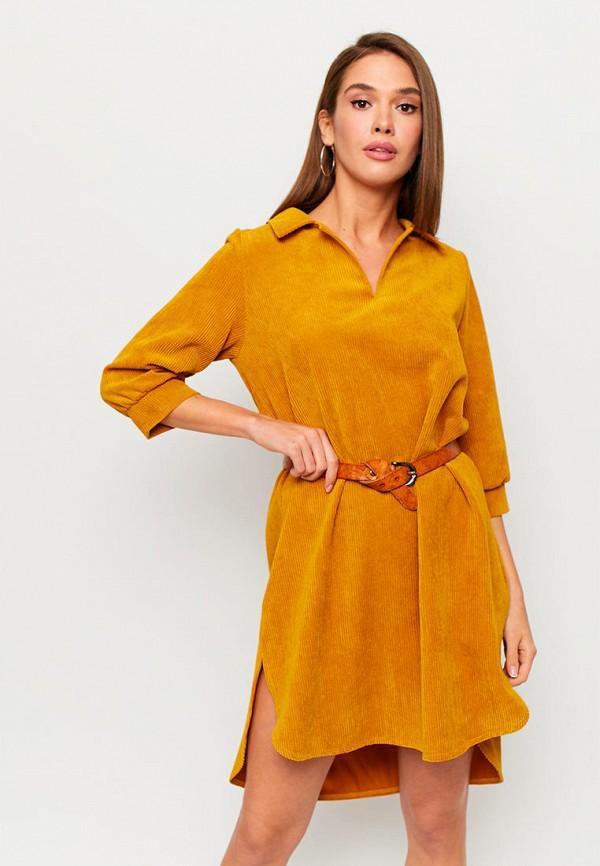женское платье karree, оранжевое