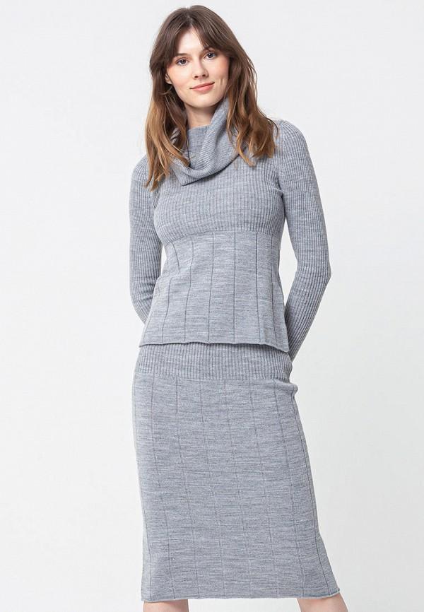 женский костюм bgn, серый