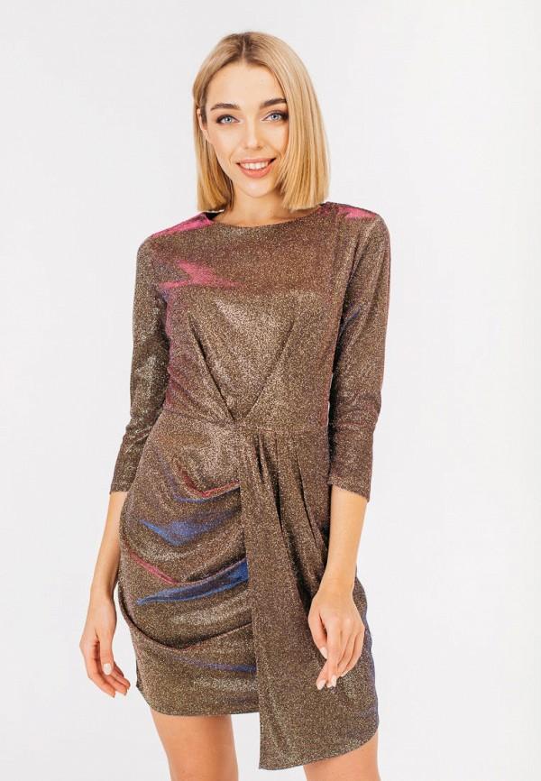 женское вечерние платье bessa, золотое