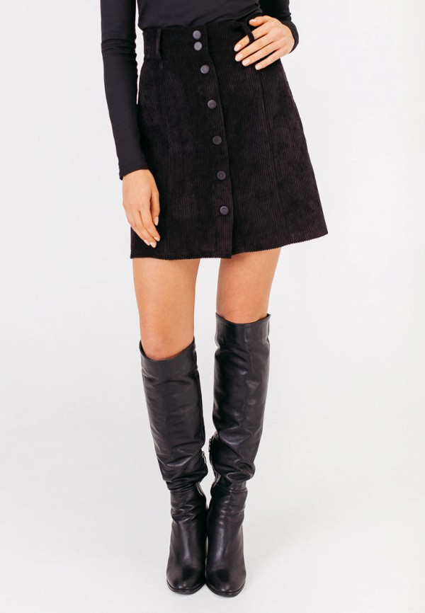 женская юбка bessa, черная