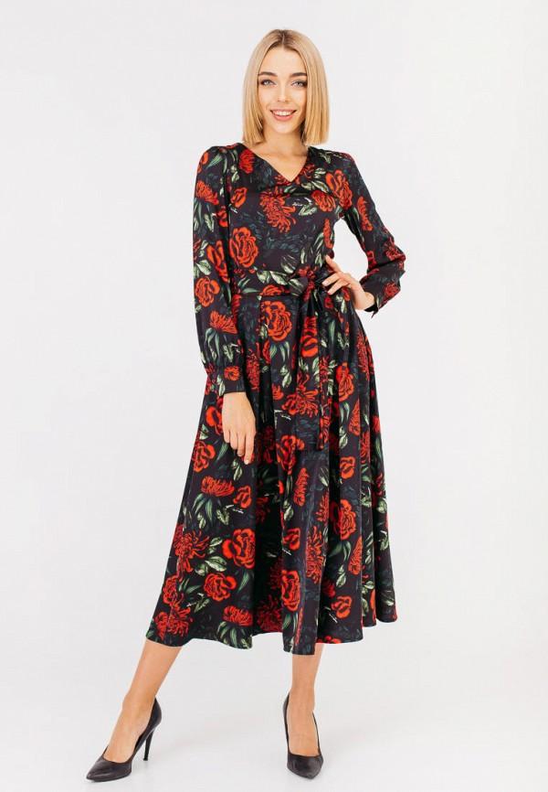 женское повседневные платье bessa, черное