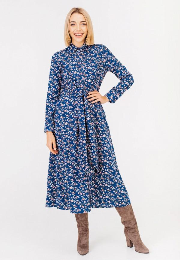 женское платье bessa, синее