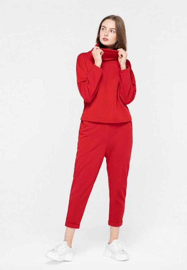 женский спортивный костюм anna anna, красный