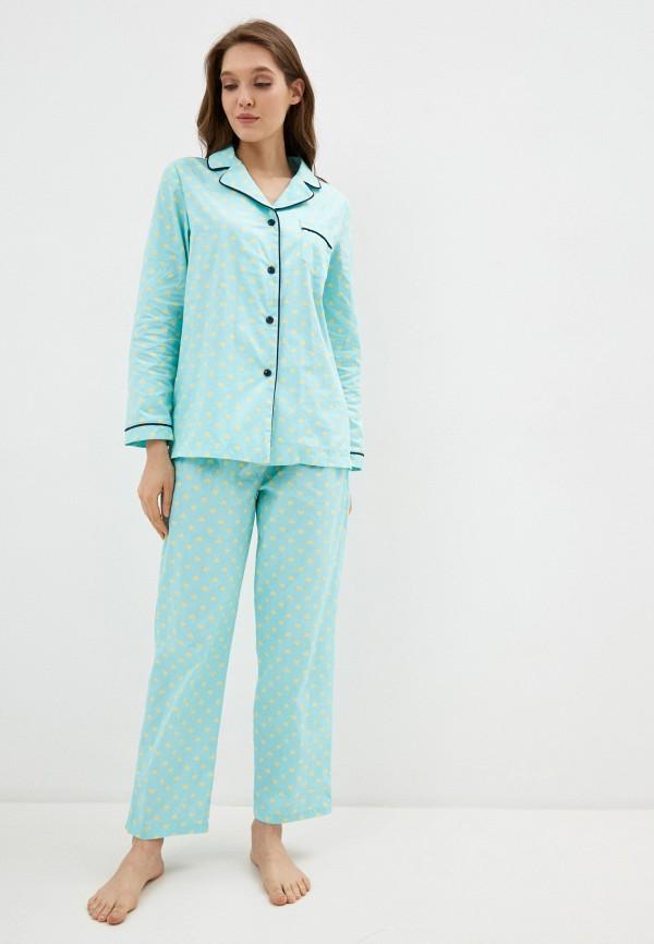 женский костюм vivaldi, голубой