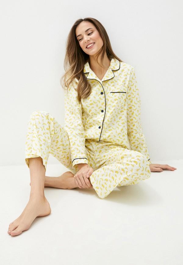 женский костюм vivaldi, желтый