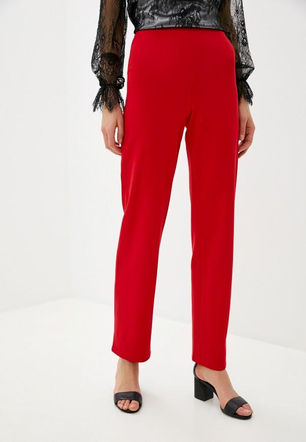 женские повседневные брюки d&m by 1001 dress, красные
