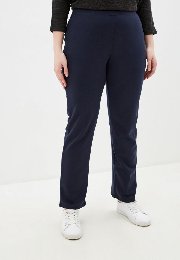 женские классические брюки prewoman, синие