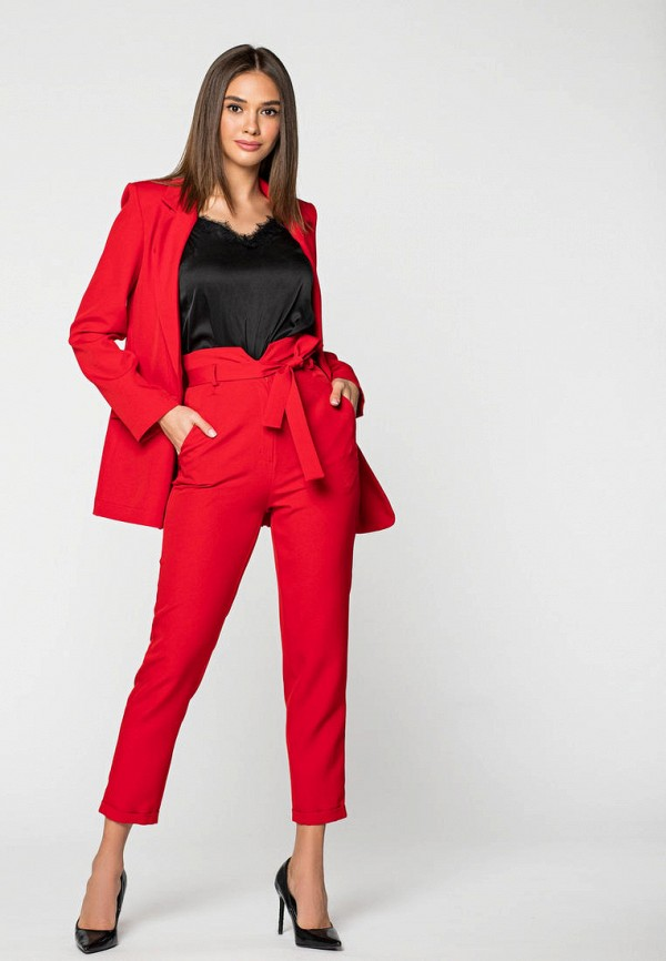 женский костюм itelle, красный
